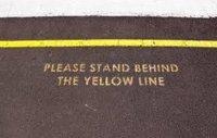 Gelbe Linien