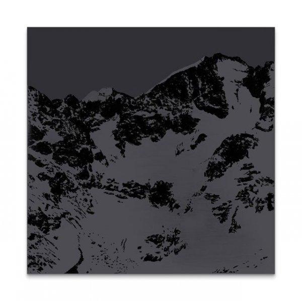 Sven Drühl - © Sven Drühl, S.D.N.N. (black) 2016, © VG-Bild-Kunst, Bonn 2017