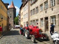 Alte Traktoren - Alte Stadt - Großes Bulldogtreffen © Schlepperfreunde Nürnberg, Walter Spies