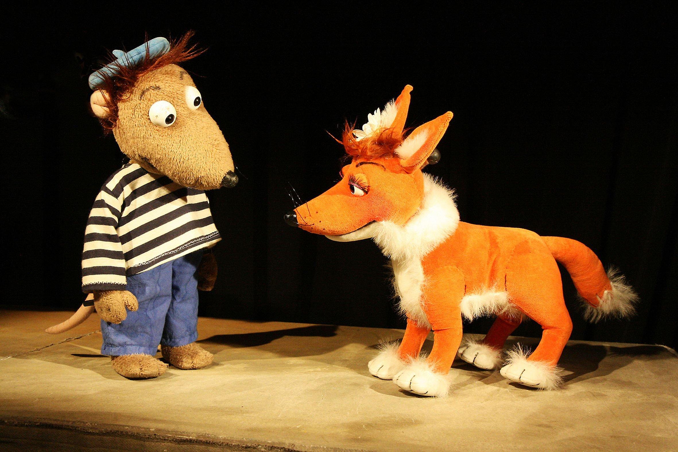 Kindertheaterwoche: Theater Marmelok: Eliot und Isabella im Finsterwald - © Mathias Müller-Wolfgramm