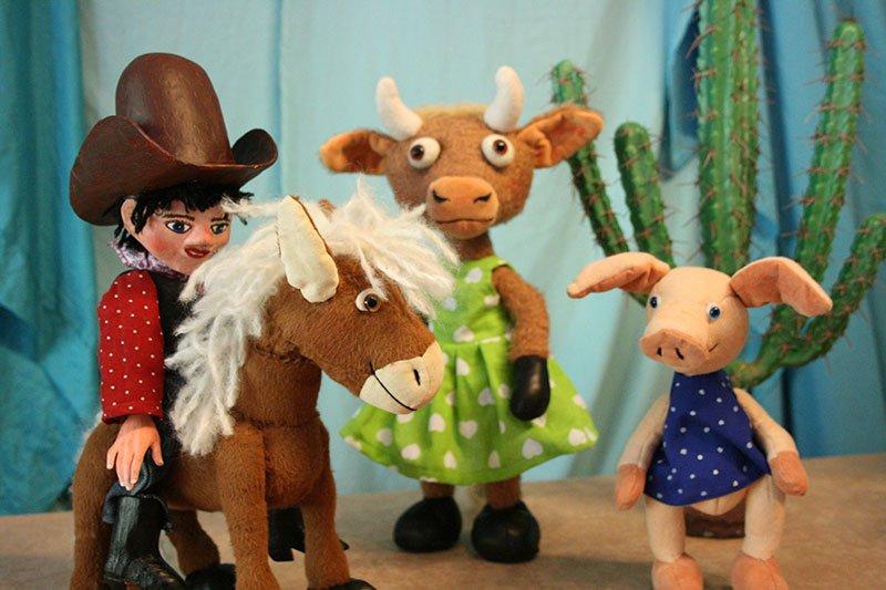 Kindertheater: Cowboy Klaus und das pupsende Pony - © Theater Blinklichter