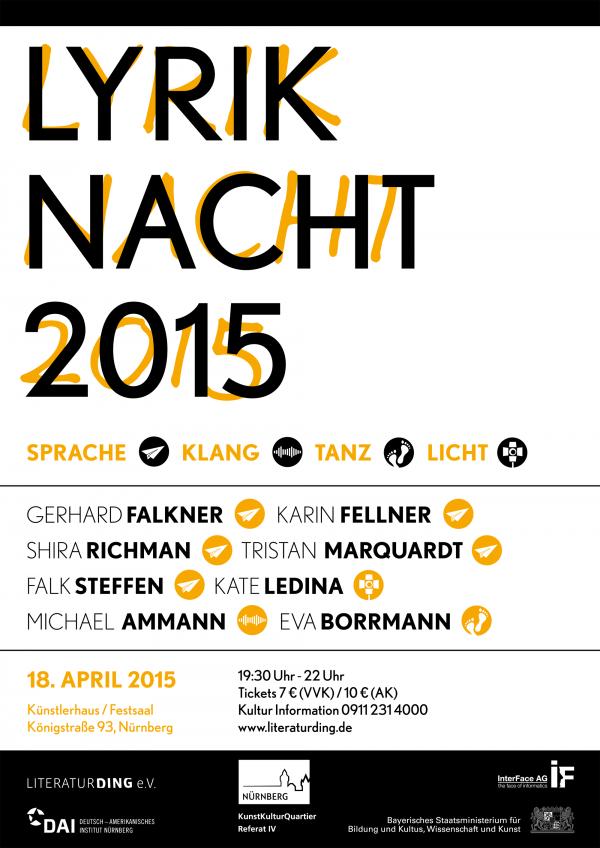 Lyriknacht 2015 - © Maren Burghard
