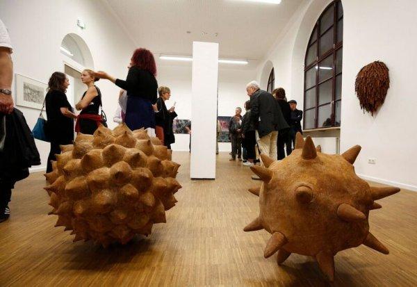 Kunstpreis der Nürnberger Nachrichten 2017 - Führung - © Foto: Stephan Hippel