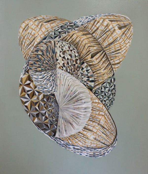 Mona Ardeleanu. Marianne-Defet-Malerei-Stipendium - © Mona Ardeleanu: Flexit 2016 I, (Detail), 2016, Öl auf Leinwand, 70 x 50 cm