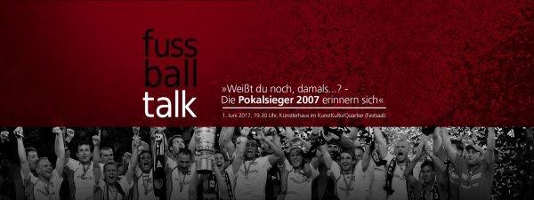 """""""Weißt du noch, damals...?"""" - Die Pokalsieger 2007 erinnern sich - © Veranstalter"""