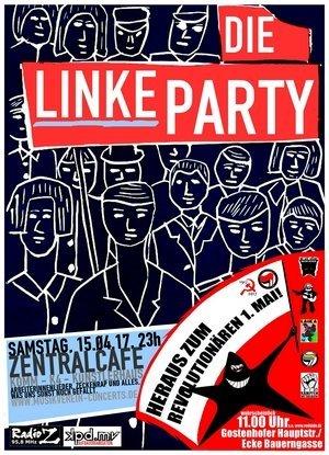 DIE LINKE PARTY mit ABSOLUTH - © Veranstalter