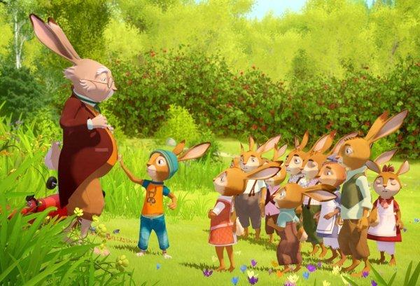Die Häschenschule - Jagd nach dem goldenen Ei - © Disney