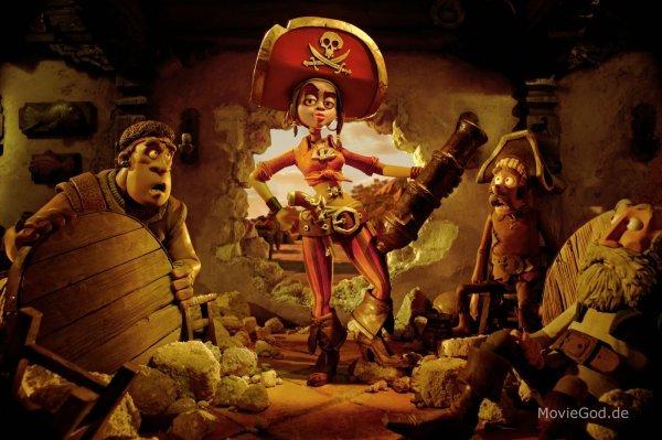 Die Piraten - Ein Haufen merkwürdiger Typen - © Sony Pictures