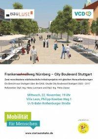 Franken(schnell)weg Nürnberg – City Boulevard Stuttgart