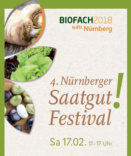 4. Nürnberger Saatgut-Festival - © Veranstalter
