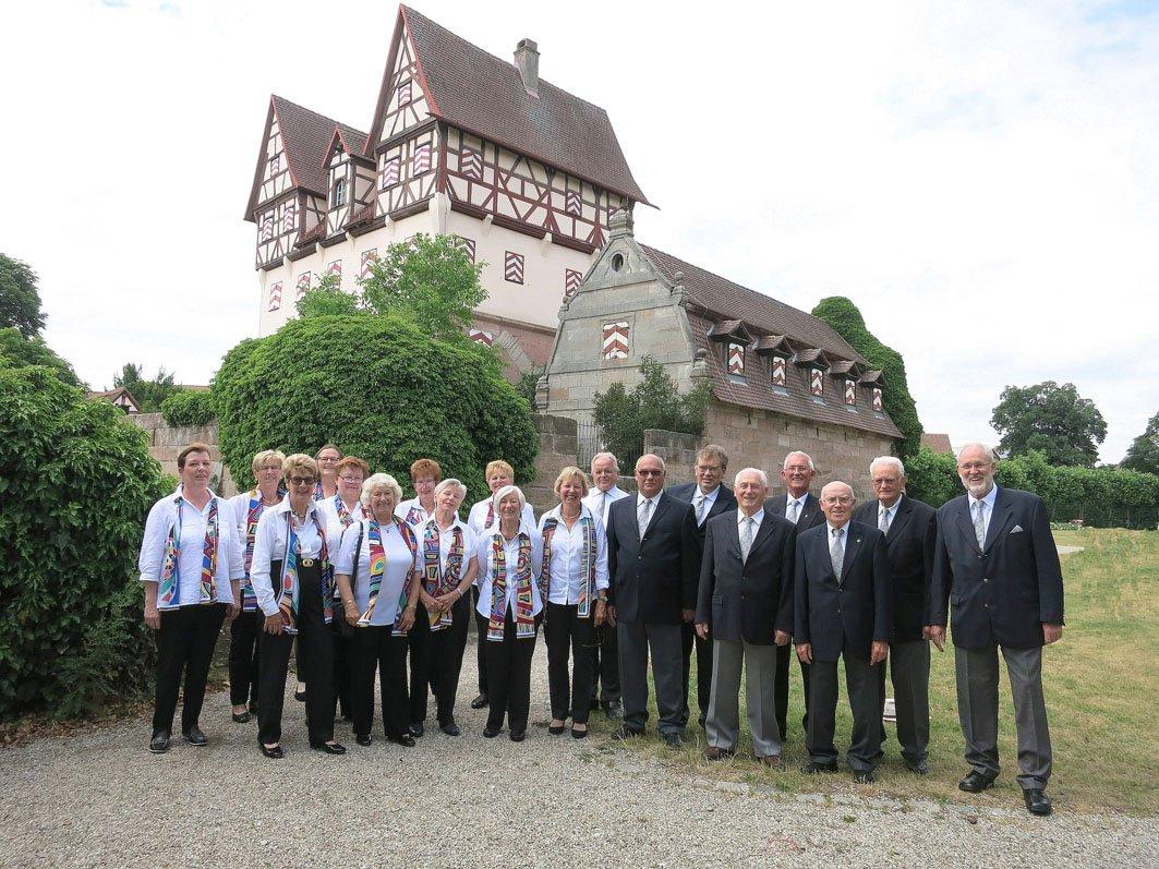 Schlosshofserenade mit dem Gesangsverein Nbg.-Neunhof - © Ottmar Andres