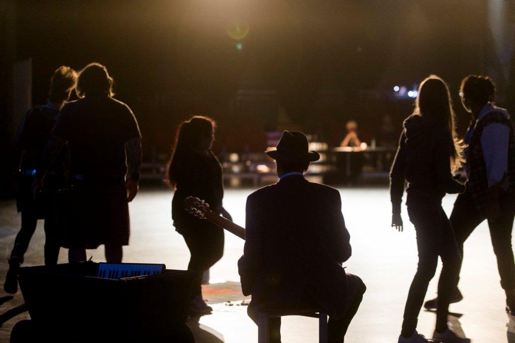 Schauen, spielen: Schauspielen! - © Bernd Arnold